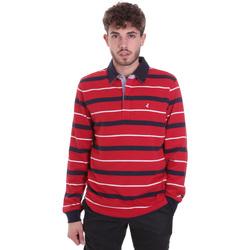 textil Hombre Polos manga larga Navigare NV30030 Rojo