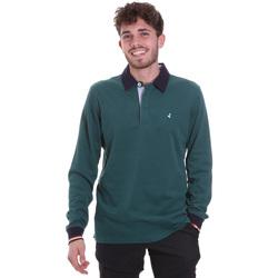 textil Hombre Polos manga larga Navigare NV32023 Verde
