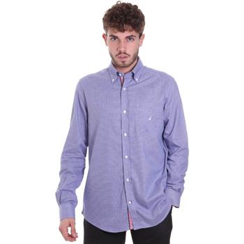 textil Hombre Camisas manga larga Navigare NV91133 BD Azul