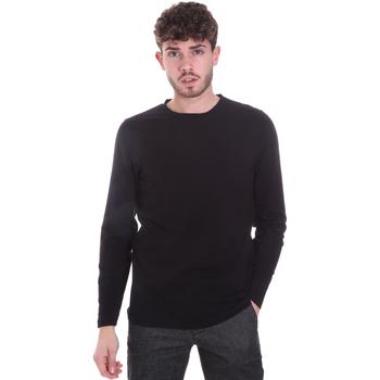 textil Hombre Camisetas manga larga Sseinse MI1691SS Negro