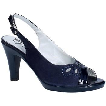 Zapatos Mujer Zapatos de tacón Grace Shoes E8174 Azul
