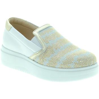 Zapatos Mujer Slip on Exton E02 Blanco