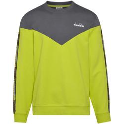 textil Hombre Sudaderas Diadora 502176428 Verde