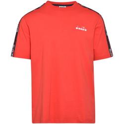 textil Hombre Camisetas manga corta Diadora 502176429 Rojo