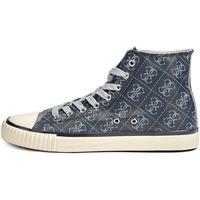 Zapatos Hombre Zapatillas altas Guess FM8NWH FAL12 Gris