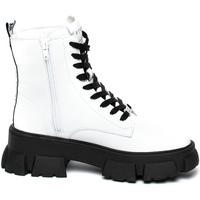 Zapatos Mujer Botas de caña baja Steve Madden SMSTANKER-WHTLEA Blanco