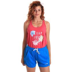 textil Mujer Conjuntos chándal Key Up 5K78A 0001 Rosado