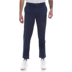 textil Hombre Pantalones chinos Navigare NV55183 Azul