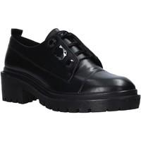Zapatos Mujer Derbie Apepazza F0COMBAT09/DIA Negro
