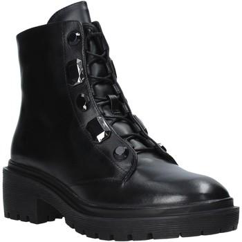 Zapatos Mujer Botas de caña baja Apepazza F0COMBAT07/DIA Negro