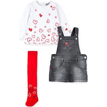 textil Niña Conjunto Losan 028-8002AL Gris