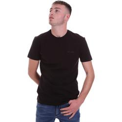 textil Hombre Camisetas manga corta Antony Morato MMKS01855 FA120022 Negro