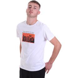 textil Hombre Camisetas manga corta Antony Morato MMKS01880 FA100144 Blanco