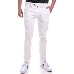 textil Hombre Pantalones chinos Antony Morato MMTR00572 FA310002 Blanco