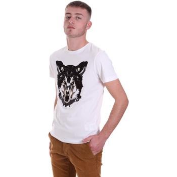 textil Hombre Camisetas manga corta Antony Morato MMKS01878 FA100144 Blanco