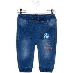 textil Niña Vaqueros slim Losan 027-6017AL Azul