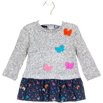textil Niña Vestidos cortos Losan 028-7015AL Gris