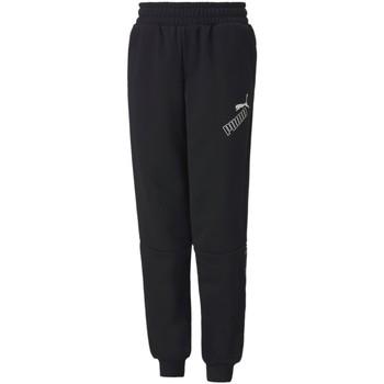 textil Niños Pantalones de chándal Puma 583243 Negro