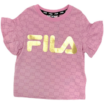 textil Niña Camisetas manga corta Fila 688038 Rosado