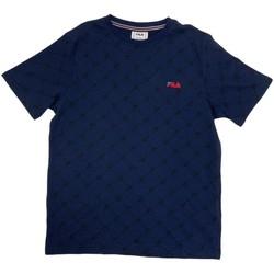 textil Niño Camisetas manga corta Fila 688084 Azul