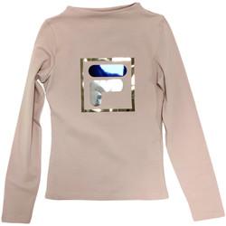 textil Niños Camisetas manga larga Fila 688102 Beige