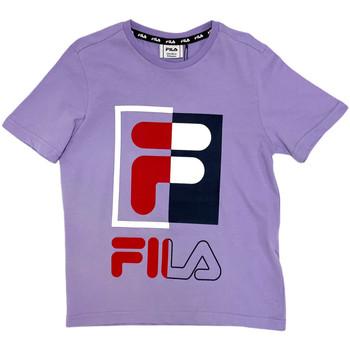 textil Niños Camisetas manga corta Fila 688149 Rosado