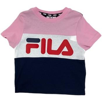 textil Niños Camisetas manga corta Fila 688023 Rosado