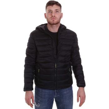 textil Hombre Plumas Lumberjack CM95222 001 416 Negro