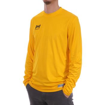textil Hombre Camisetas manga larga Hungaria  Amarillo