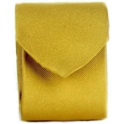 textil Hombre Corbatas y accesorios Michi D'amato CRAVATTA 002 Amarillo