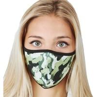 Accesorios textil Mujer Mascarilla Abbacino 90224 90 Verde
