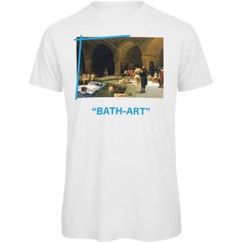 textil Hombre Camisetas manga corta Openspace Bath Art blanco