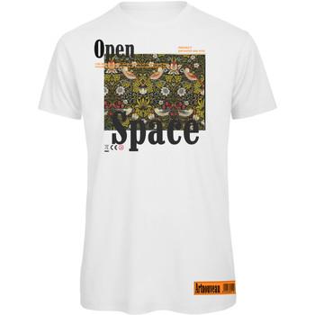 textil Mujer Camisetas manga corta Openspace Art Nouveau043350 blanco