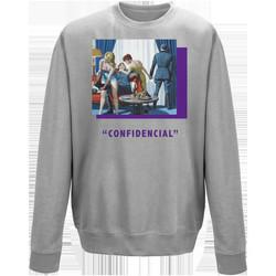 textil Sudaderas Openspace Confidencial gris