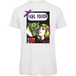 textil Hombre Camisetas manga corta Openspace Fkng Poison blanco