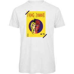 textil Hombre Camisetas manga corta Openspace Fkng Zombie blanco