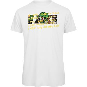 textil Hombre Camisetas manga corta Openspace Serpop blanco