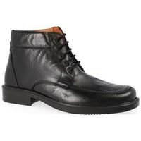 Zapatos Hombre Botas de caña baja Luisetti 0151 NEGRO