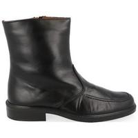 Zapatos Hombre Botas de caña baja Luisetti 0153 MERINILLO NEGRO