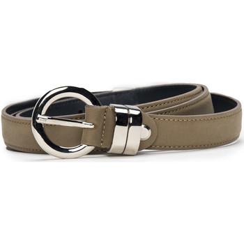 Accesorios textil Mujer Cinturones Nae Vegan Shoes BeltBlanes_Camel Beige