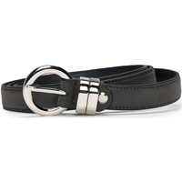Accesorios textil Mujer Cinturones Nae Vegan Shoes BeltBlanes_Grey Gris