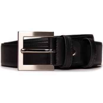 Accesorios textil Hombre Cinturones Nae Vegan Shoes BeltBruc_Black Negro