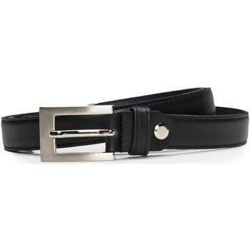 Accesorios textil Mujer Cinturones Nae Vegan Shoes BeltCamp_Black Negro