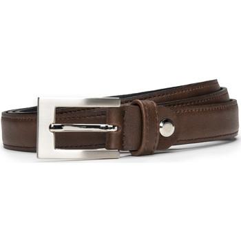 Accesorios textil Mujer Cinturones Nae Vegan Shoes BeltCamp_Brown Marrón