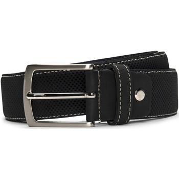 Accesorios textil Hombre Cinturones Nae Vegan Shoes BeltCanet_Black Negro