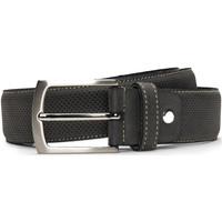 Accesorios textil Hombre Cinturones Nae Vegan Shoes BeltCanet_Grey Gris