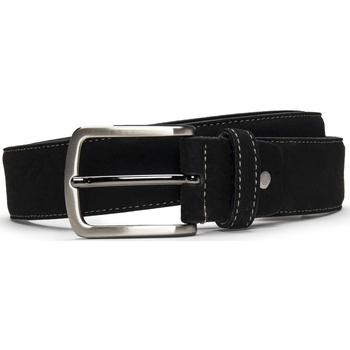 Accesorios textil Hombre Cinturones Nae Vegan Shoes BeltGava_Black Negro