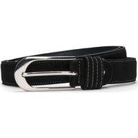 Accesorios textil Mujer Cinturones Nae Vegan Shoes BeltPera_Black Negro