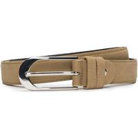 Accesorios textil Mujer Cinturones Nae Vegan Shoes BeltPera_Camel Beige