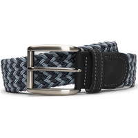 Accesorios textil Hombre Cinturones Nae Vegan Shoes BeltPrat_Blue Azul